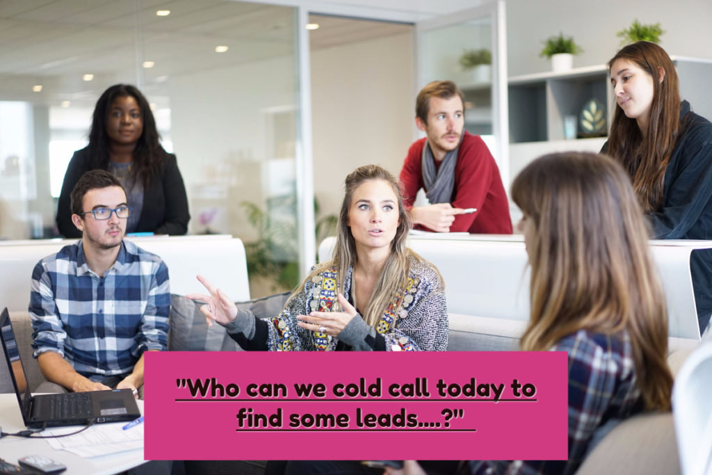 Increase sales without cold calls
