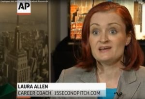 Associated Press interviews Laura Allen