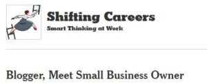 NY Times Article - Shifting Careers