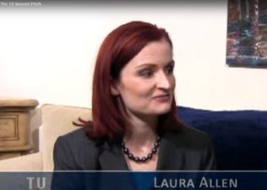 TV Star Mkaer interviews Laura Allen